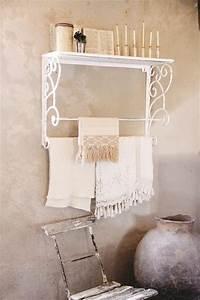 Wandregal Küche Vintage : handtuchhalter wandgarderobe die feenscheune ~ Sanjose-hotels-ca.com Haus und Dekorationen