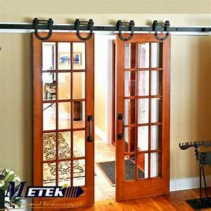 49ft 6ft 66ft cast iron sliding interior barn doors in With 4 ft sliding barn door