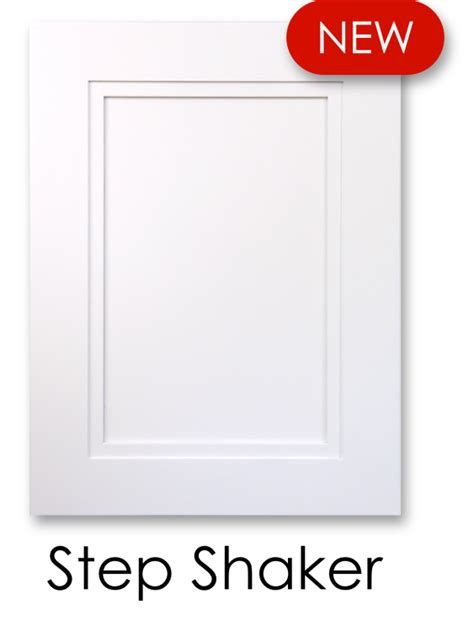 step shaker painted white