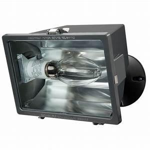 Lithonia lighting lamp bronze outdoor sodium flood light