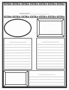 Printable newspaper template for children for Free printable newspaper template for students