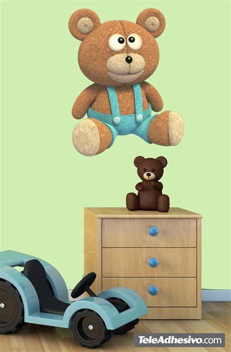 Wandtattoo Kinderzimmer Teddy by Kinderzimmer Wandtattoo Teddyb 228 R Mit Denim Overalls