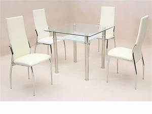 4 tips on choosing good dining sets elites home decor for Choosing glass dining room tables for small space