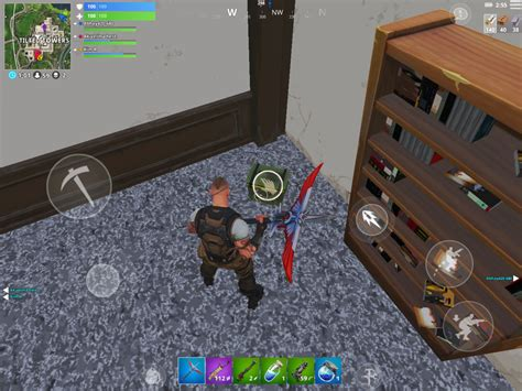 enable secondary fire button  fortnite