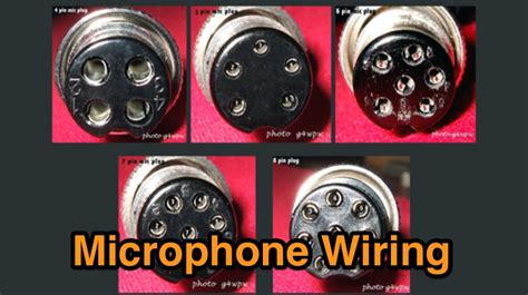 mic wiring links  microphone wiring diagrams