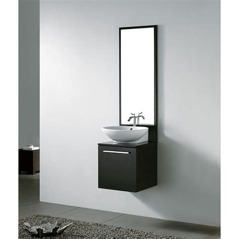 small bathroom vanity cabinets  grasscloth wallpaper