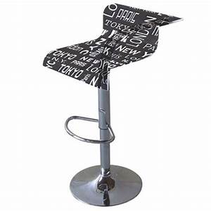 Tabouret Bar Tlescopique Dcor New York Achat Vente