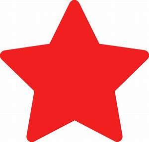 Star-red Clip Art at Clker.com - vector clip art online ...