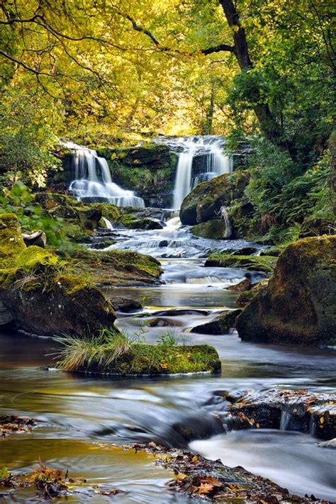 Upper Thomason Foss water fall, North Yorkshire Moors ...