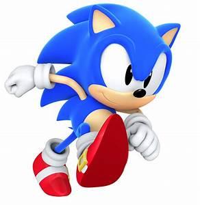 Classic Sonic The Hedgehog Running   www.pixshark.com ...