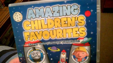 amazing children s favourites dvd review