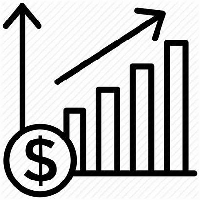 Icon Revenue Chart Sales Graph Forecasting Analysis