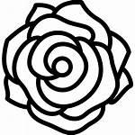 Rose Icon Font Icons Freepik Designed Tribal