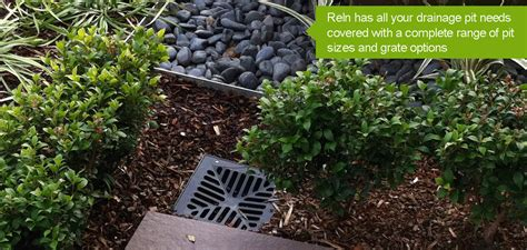 diy garden drainage solutions water pooling on lawn reln