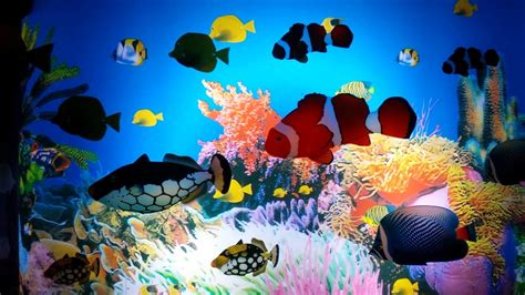 Animated Fish Aquarium Wallpaper - moving aquarium wallpaper 49 images