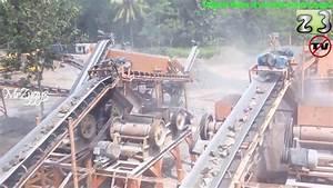Stone Crusher Plant Working