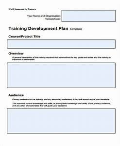 Sample Training Plan Template For Employees Free 8 Training Plan Samples Templates In Pdf Ms Word