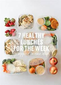Recipes to Prepare Seven Healthy Lunches For The Week