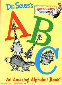 Dr Seuss39s ABC Board Book Exodus Books