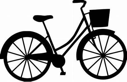 Bicycle Clipart Basket Bike Transparent Clip Svg