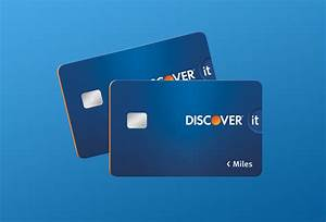 Discover it Miles Credit Card for Travel