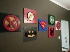 Diy superhero wall decor : Superhero wall art room