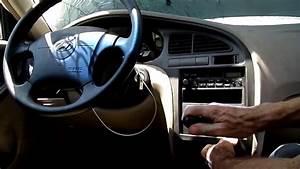 Hyundai Elantra Instrument Cluster Removal