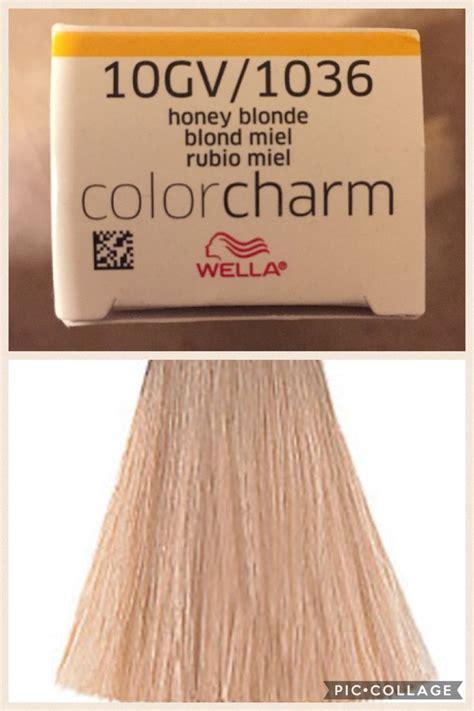 wella color charm gv  honey blonde honey blonde