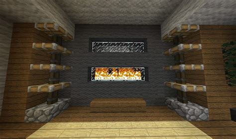 Minecraft Pe Living Room Designs by 9 Fireplace Ideas Minecraft Building Inc