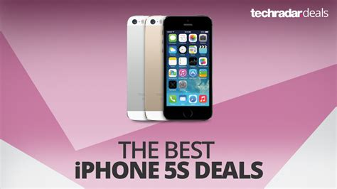 The best iPhone 5S deals in January 2018
