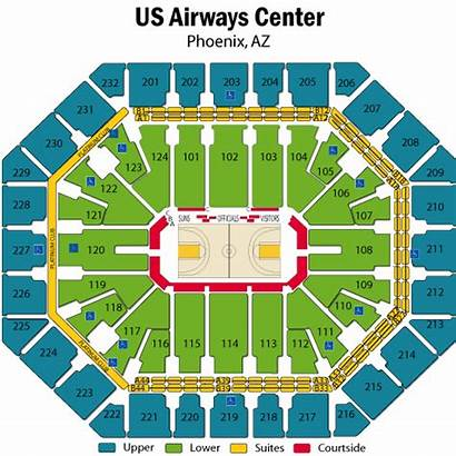 Suns Seating Chart Arena Phoenix Airways Center