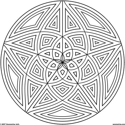 geometric coloring pages bestofcoloringcom
