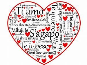 Ich Mag Dich Italienisch Man Hand Schreiben Ti Amo Ich