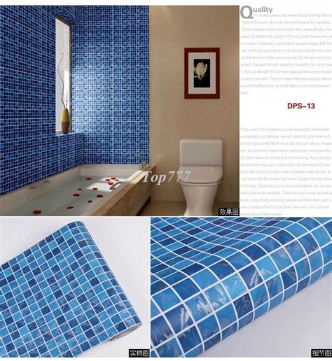 adhesive kitchen wall tiles pvc mosaic wall sticker self adhesive wallpaper for 3991