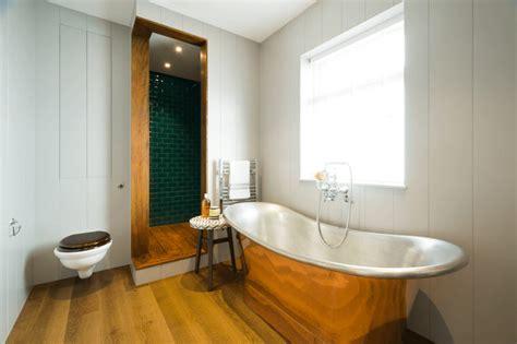 metal bathroom 4 warm metal fixture ideas to brighten up your bathroom