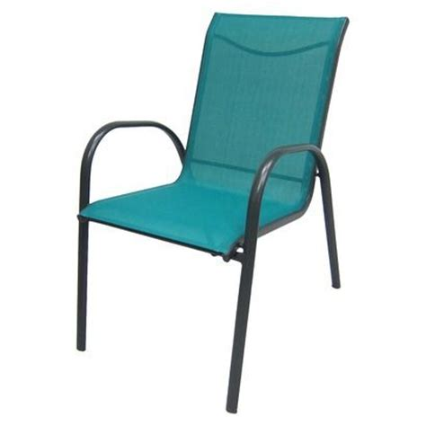 Stack Sling Patio Chair Turquoise Room Essentials by Re Stack Sling Chair Turquoise From Target 22 For My