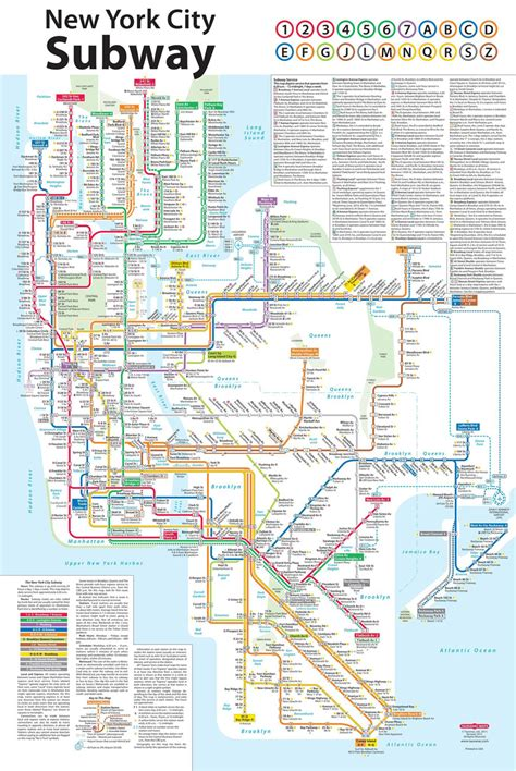 redesign  york city subway map design tagebuch
