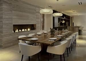 Lampen Für Esstisch : 54 extravagante wohnideen f r esszimmer ~ Markanthonyermac.com Haus und Dekorationen
