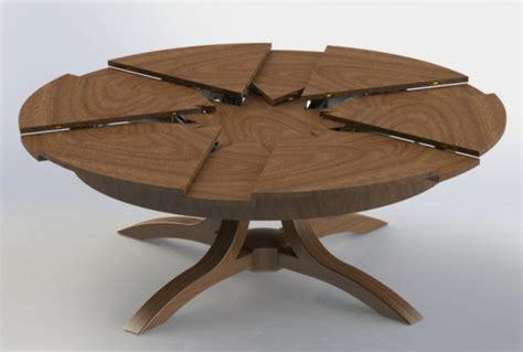 meuble rangement cuisine la table ronde extensible idées pratiques pour votre