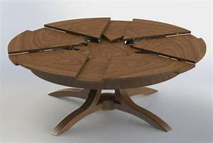 Table Ronde 10 Personnes : la table ronde extensible id es pratiques pour votre ameublement ~ Teatrodelosmanantiales.com Idées de Décoration