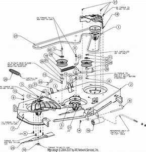 Troy Bilt 13aqa2ka066 Super Bronco 54 Fab  2017  Parts Diagram For Deck