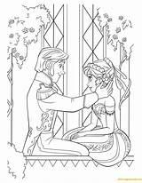 Anna Hans Prince Coloring sketch template