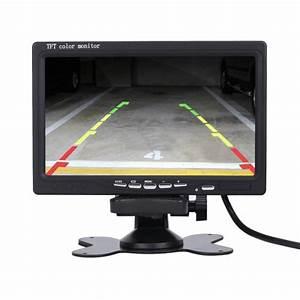 Ecran Video Voiture : ecran tft lcd pour voiture 7 pouces cam ra ~ Farleysfitness.com Idées de Décoration