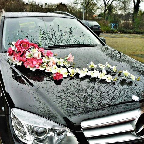 wedding car decoration decoration voiture de mariage