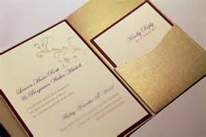 wedding pocket invitations gold shimmer pocketfold invitation suite custom invitations pocket invite modern wedding