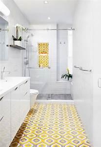 Deco Salle De Bain Gris : 1001 id es trouvez l 39 id e carrelage salle de bain qui vous sied ~ Farleysfitness.com Idées de Décoration