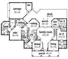 floor plans for 1 story homes whispering manor one story home plan 020s 0015 house