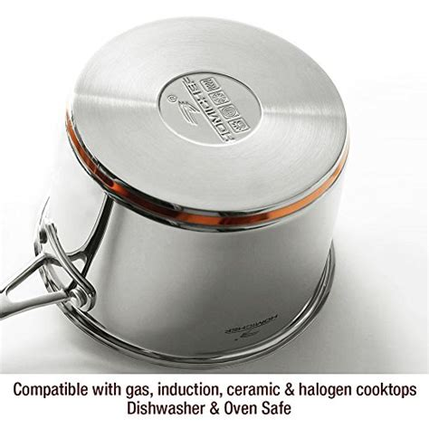 homi chef  piece nickel  stainless steel cooks pantry