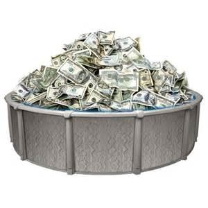 Swimming Money Pool