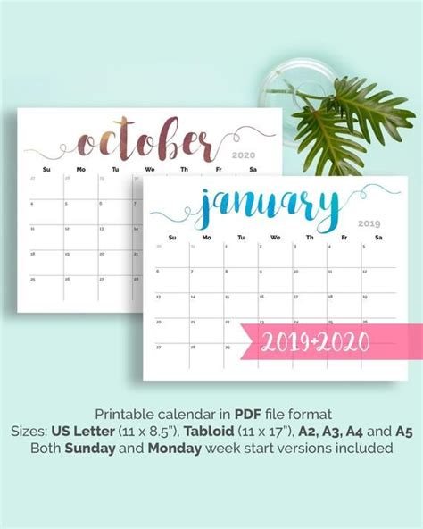 printable calendar large wall calendar desk calendar